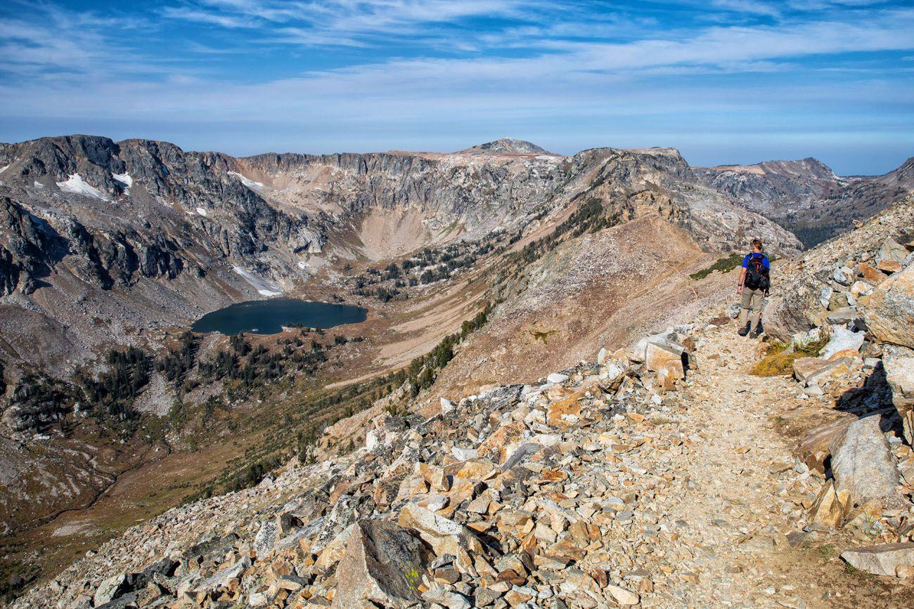 Trail to Lake Solitude