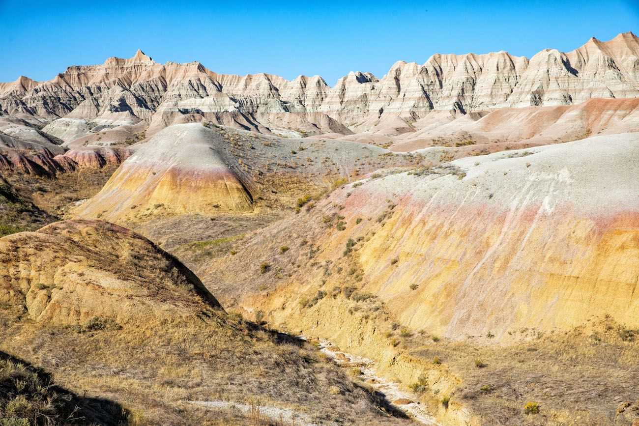 Yellow Mounds Badlands