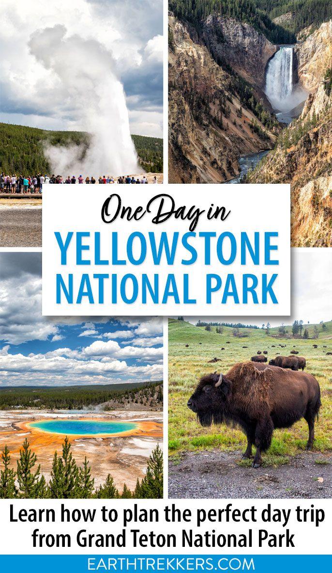 Yellowstone One Day Itinerary