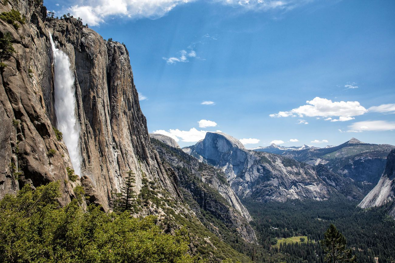 Yosemite Falls hikes in the national parks