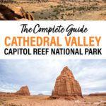 Cathedral Valley Loop Capitol Reef