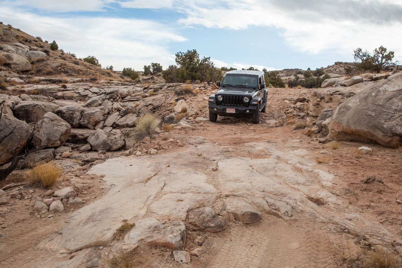 Cathedral Valley Shortcut Road