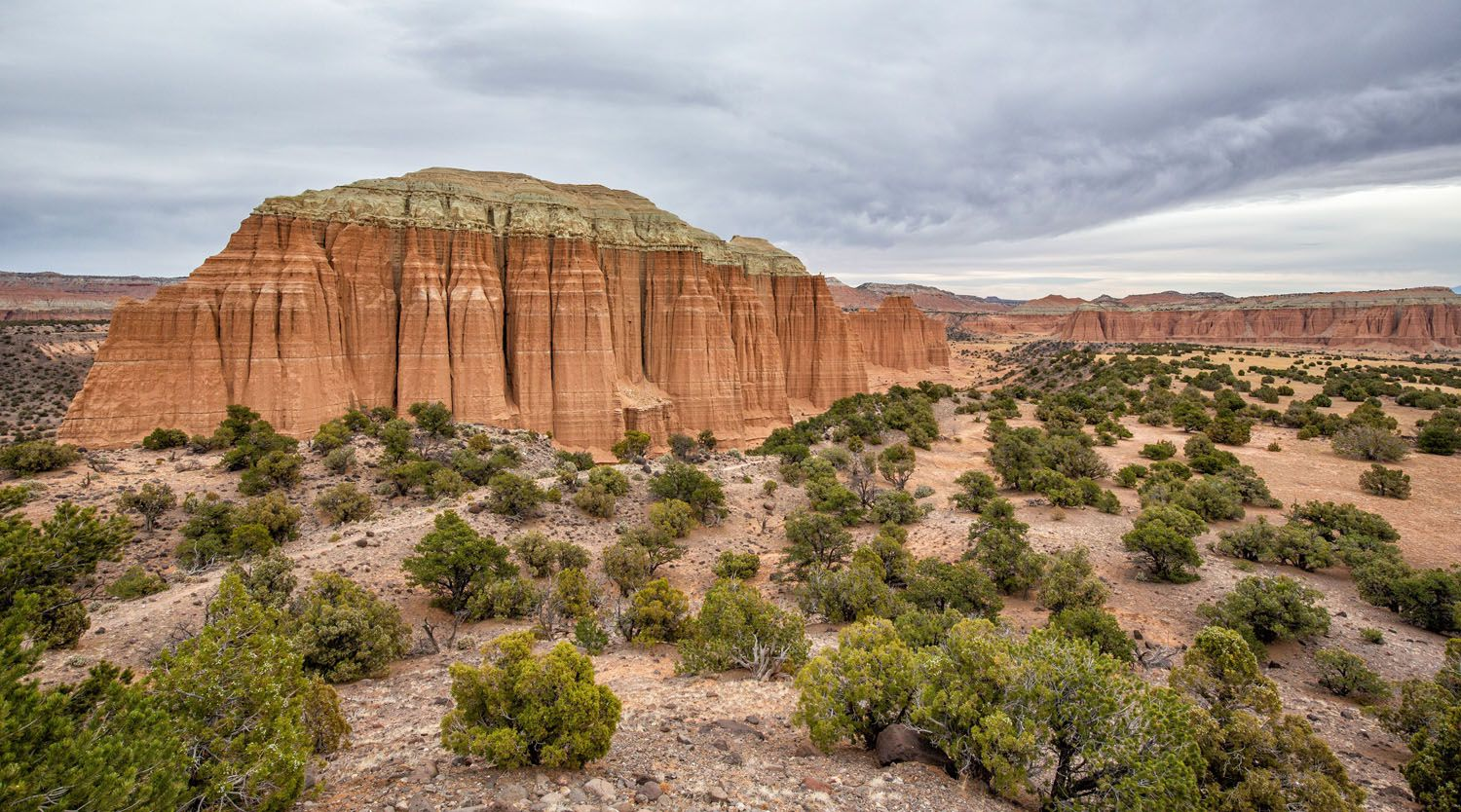 Cathedrals Trail Panorama