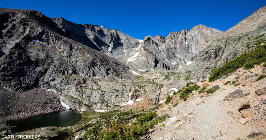 Chasm Lake and Longs Peak