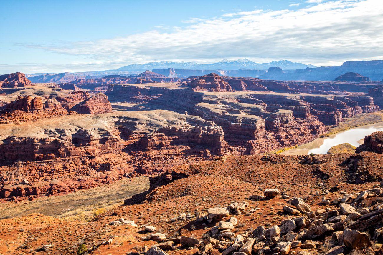 Colorado River Overlook drive the White Rim Road