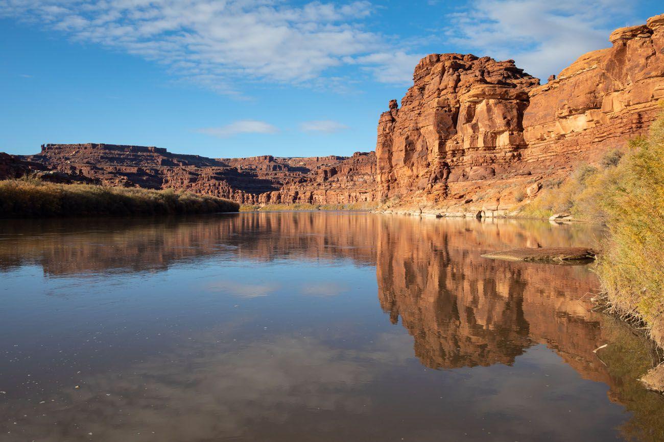 Colorado River drive the White Rim Road