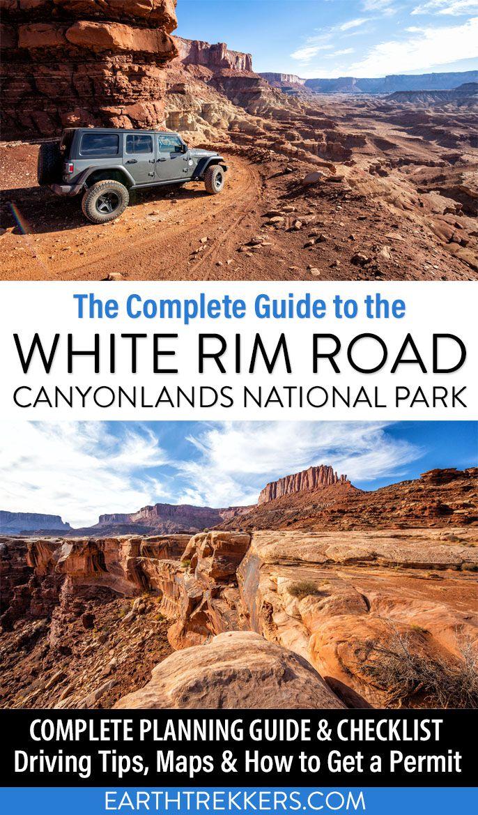 Complete Guide White Rim Road