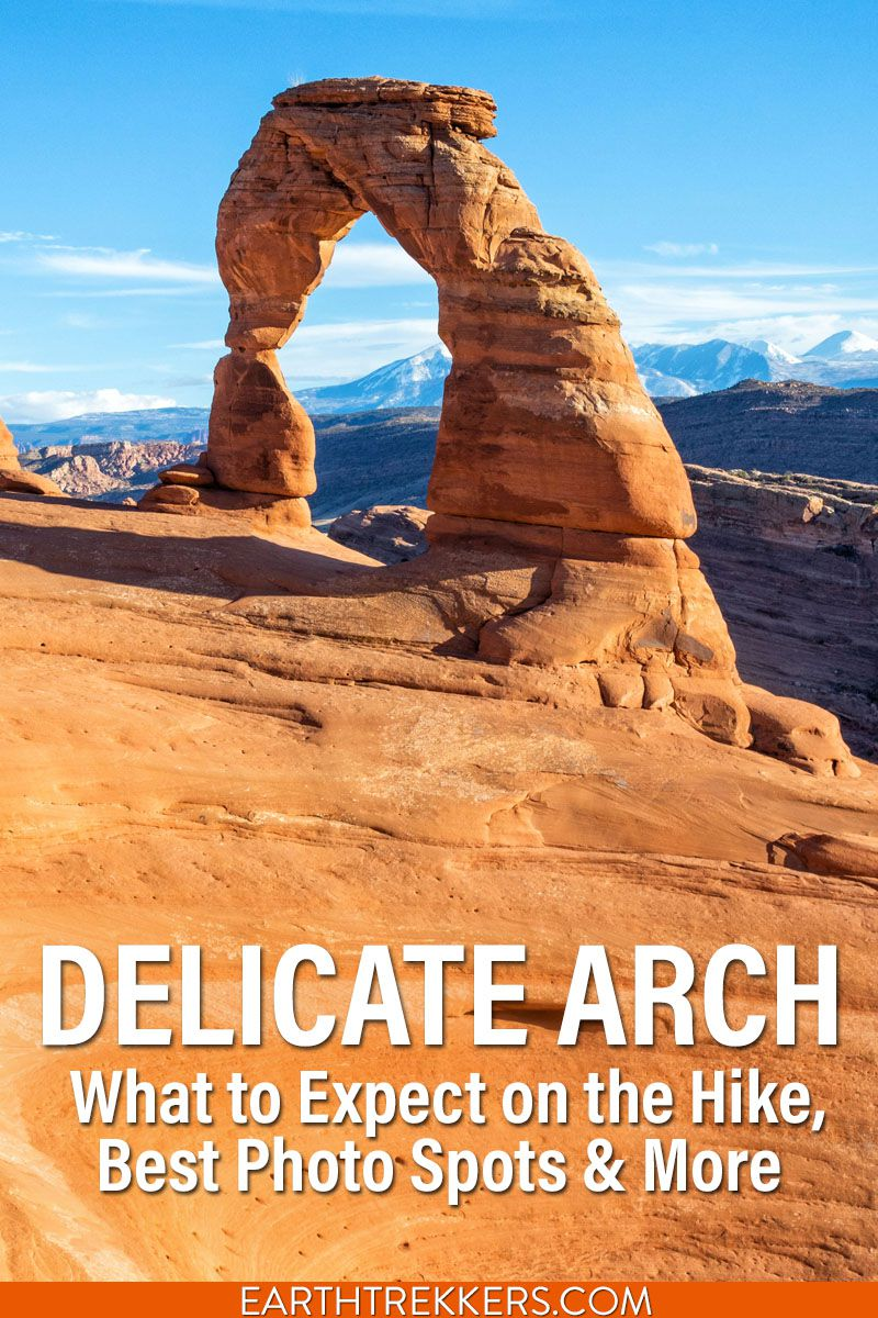 Delicate Arch Hike and Photo Spots