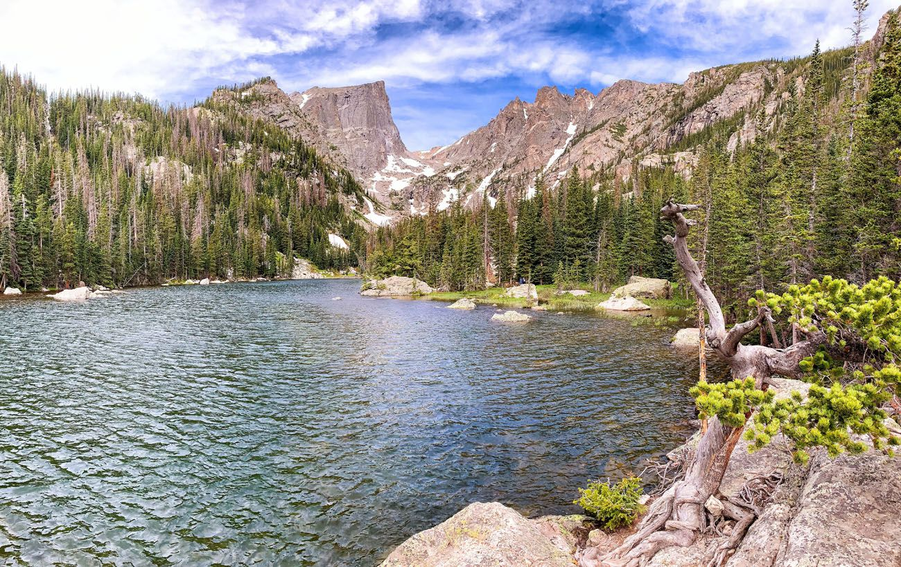 Dream Lake short hikes in the national parks
