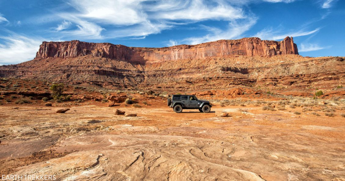 Drive the White Rim Road
