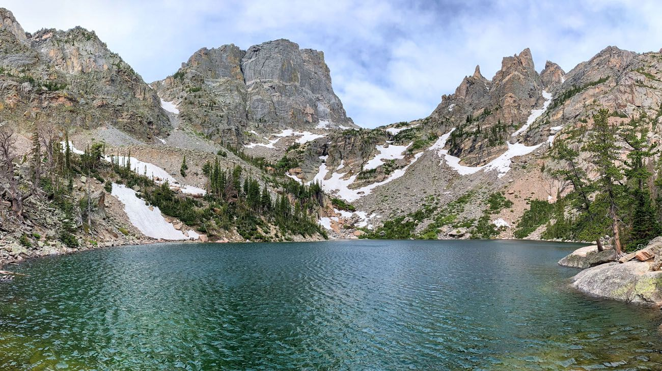 Emerald Lake short hikes in the national parks