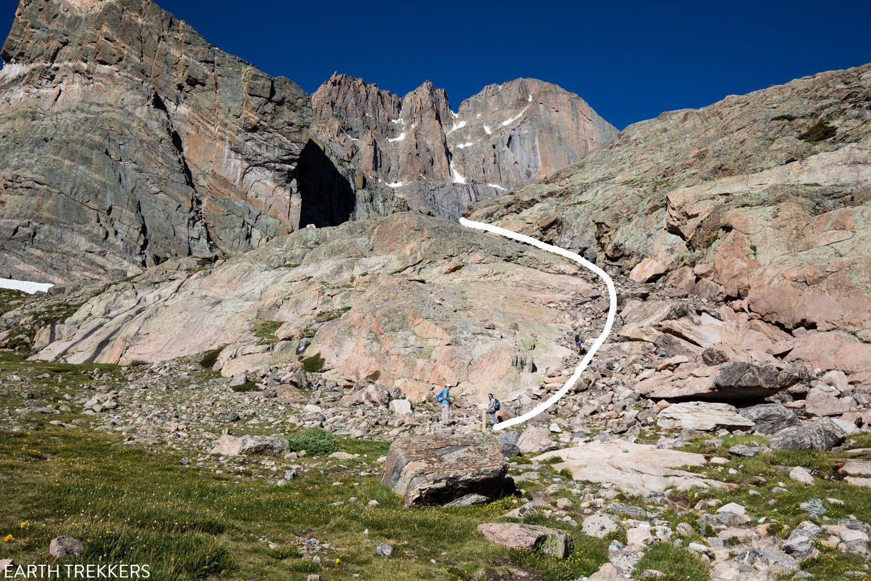 Final Climb before Chasm Lake