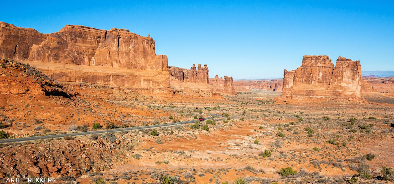 La Sal Mountains Viewpoint things to do in Arches National Park