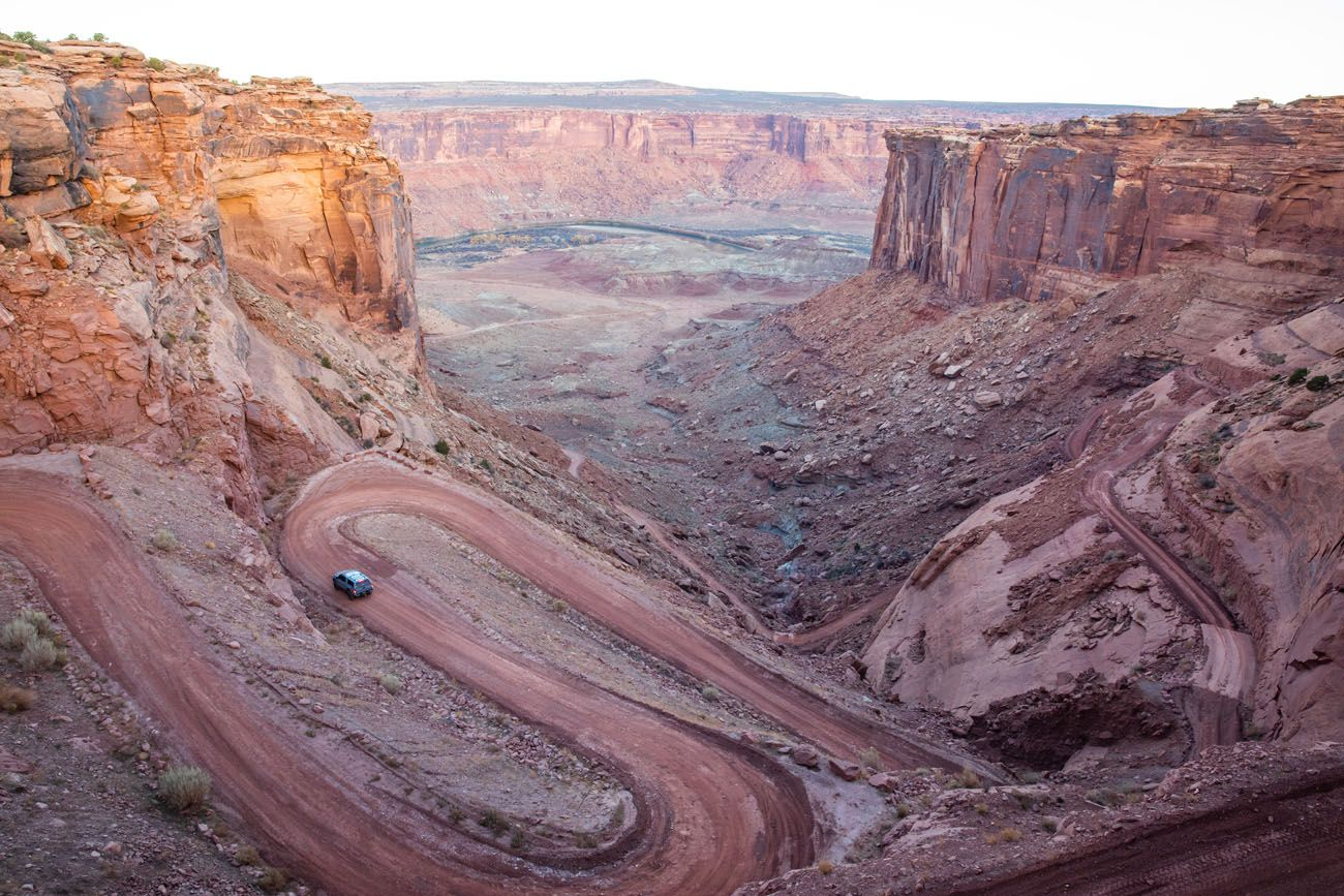 Mineral Canyon Switchbacks
