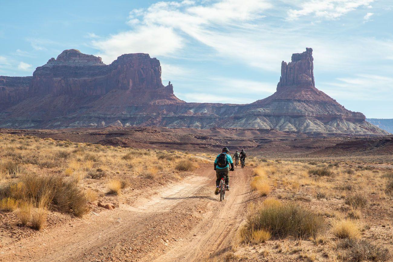 Mountain Bike White Rim Road