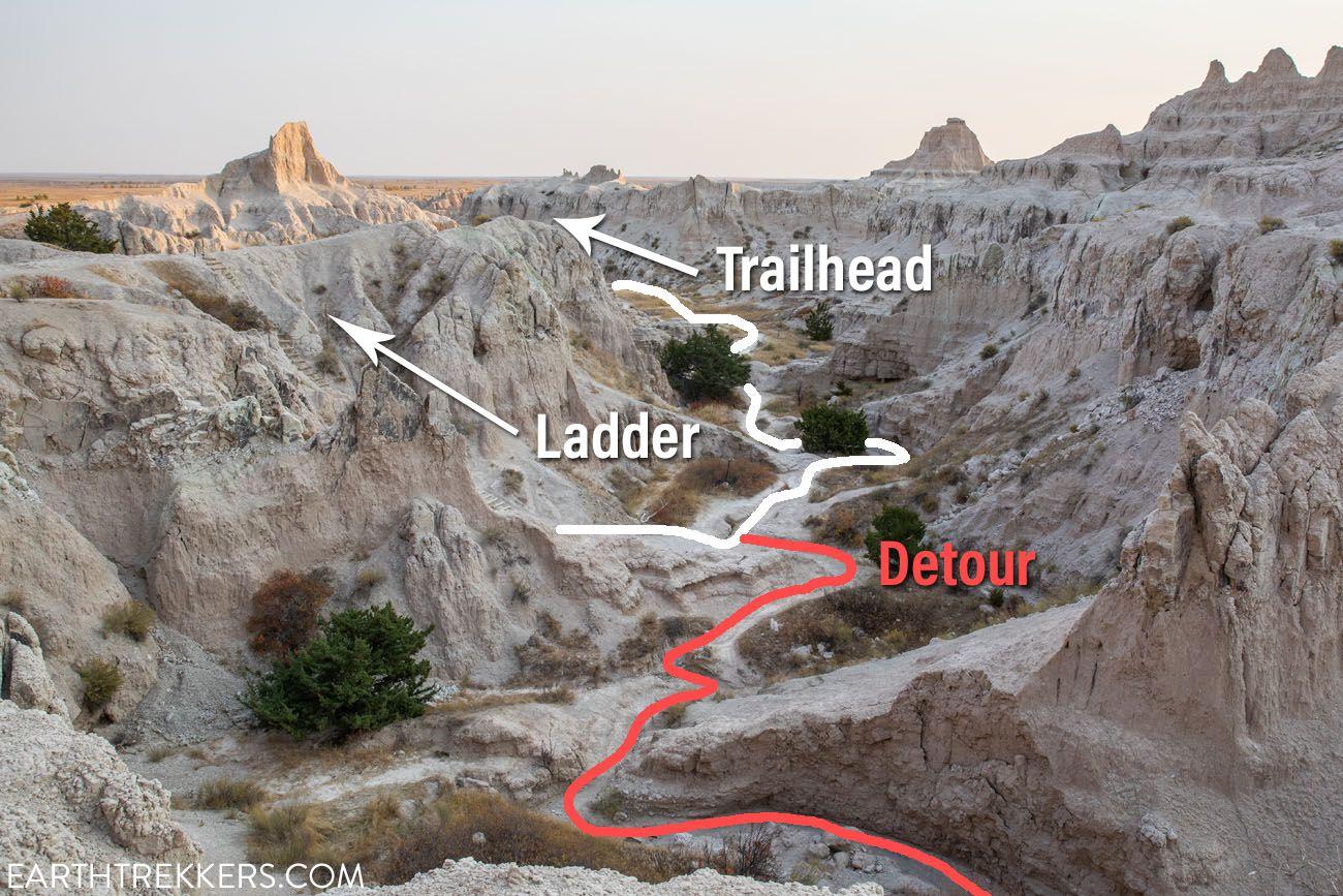 Notch Trail Detour