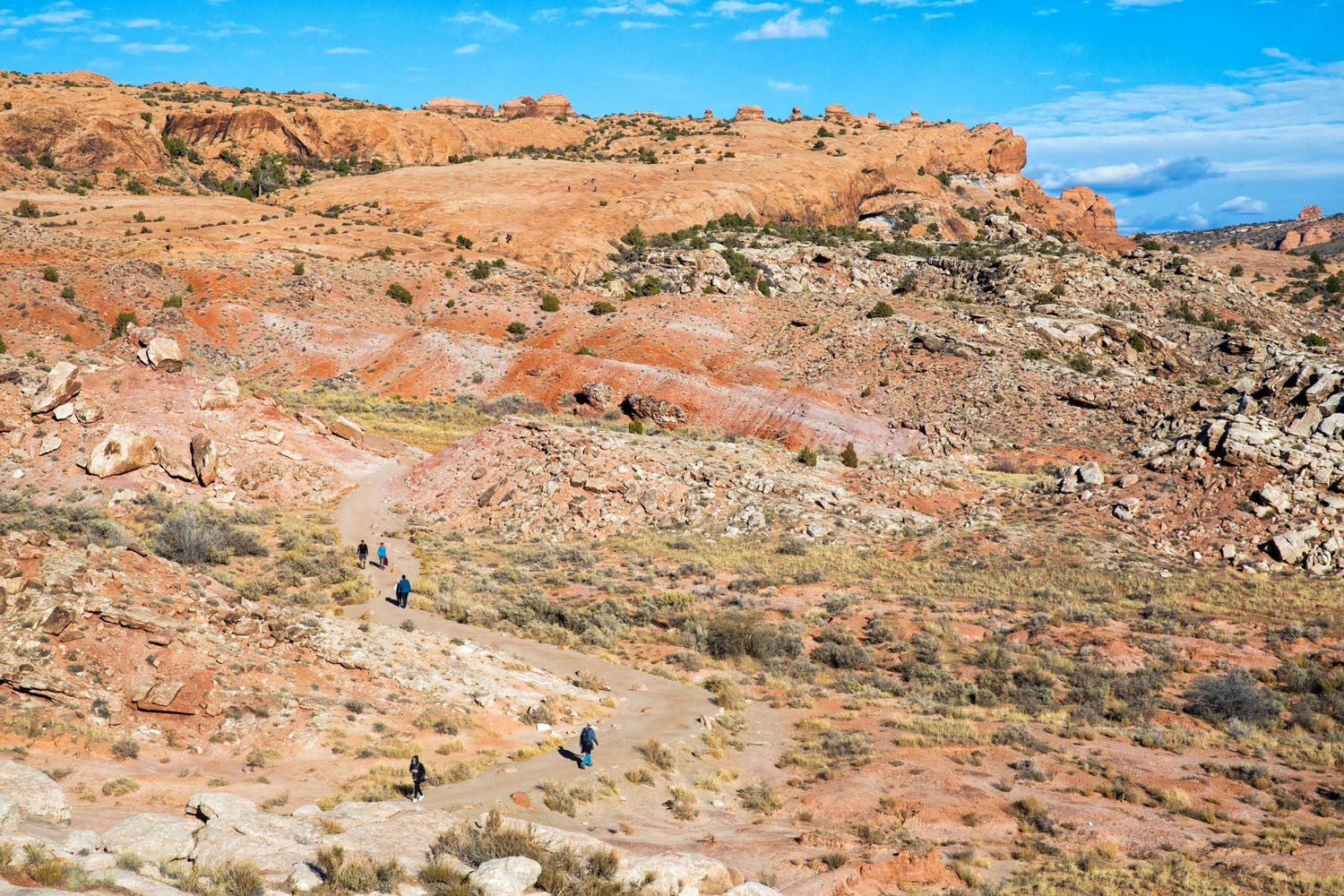 Trail to Delicate Arch