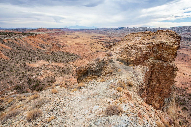 Upper South Desert Overlook Rock