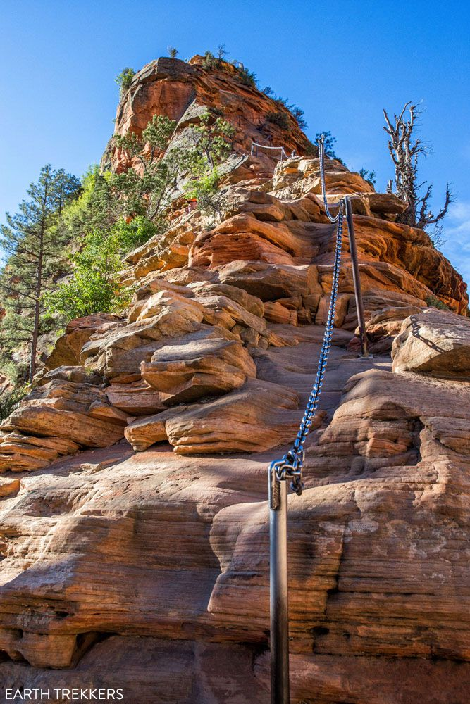 Angels Landing Chains