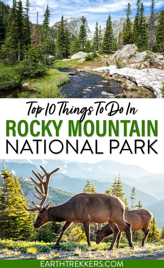 Best Things to do Rocky Mountain NP