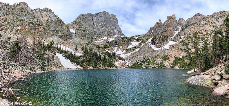 Emerald Lake Rocky Mountain National Park itinerary