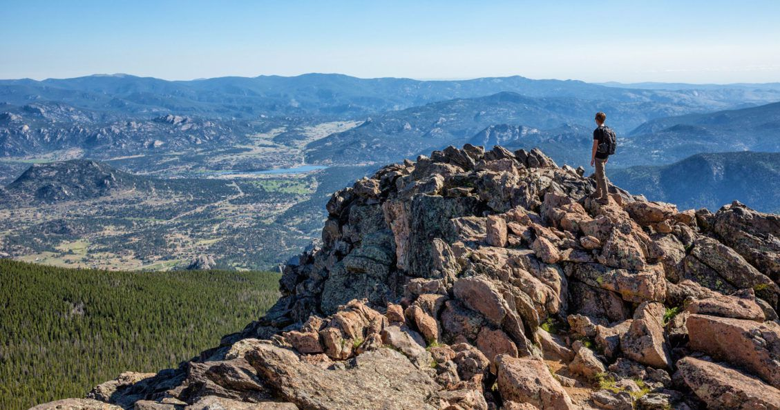 Estes Park from Twin Sisters