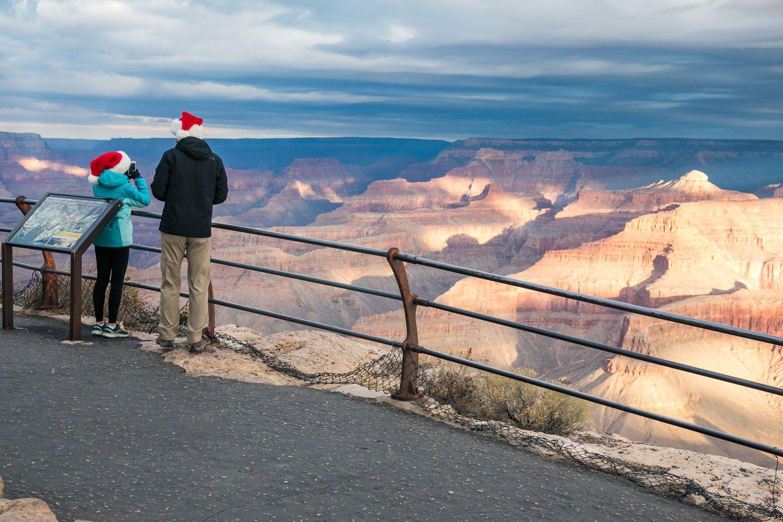 Grand Canyon Christmas Morning