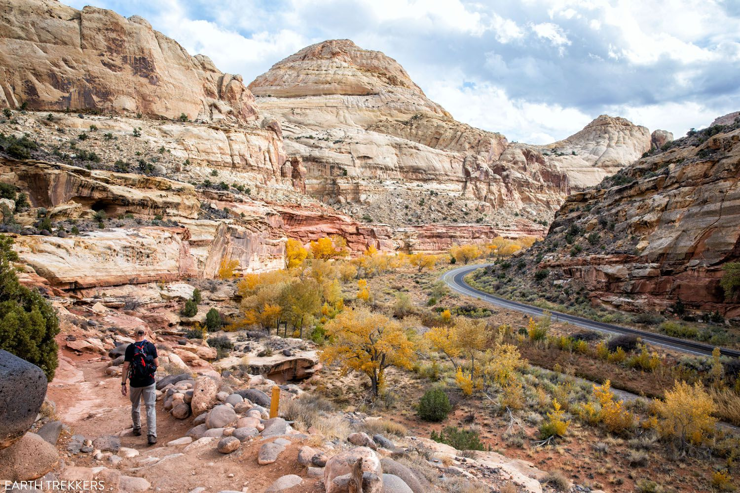 Hike Capitol Reef NP
