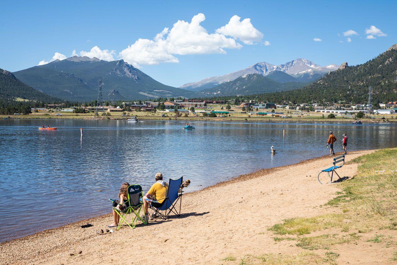 Lake Estes Rocky Mountain National Park itinerary