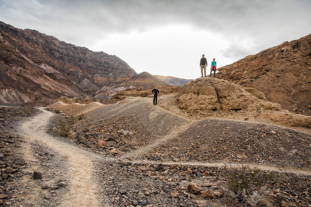 Mosaic Canyon Hike things to do in Death Valley