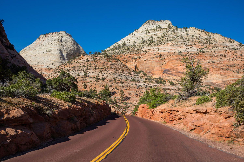 Mount Carmel Highway Zion