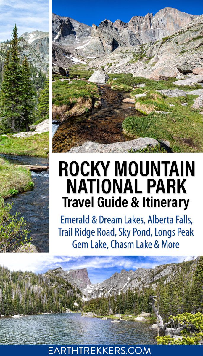 Rocky Mountain National Park Itinerary Guide