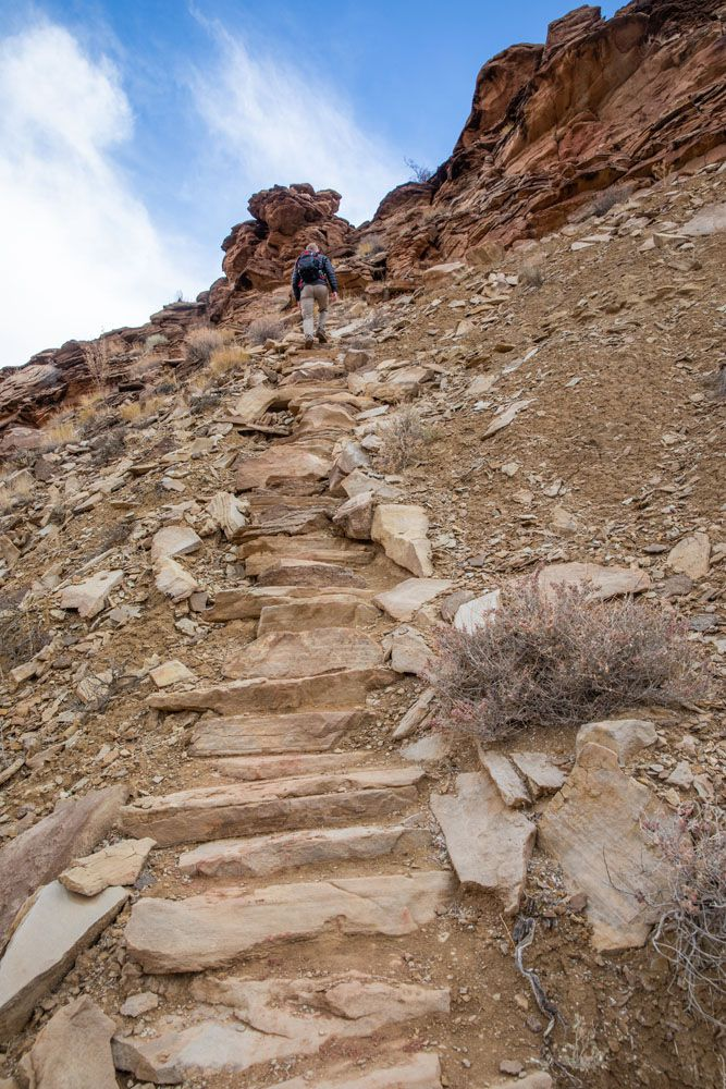 Syncline Loop Staircase