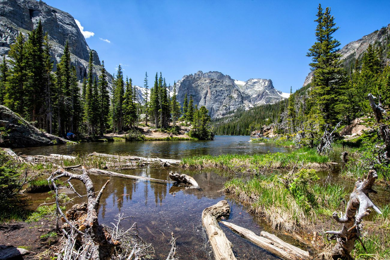 The Loch Rocky Mountain National Park itinerary