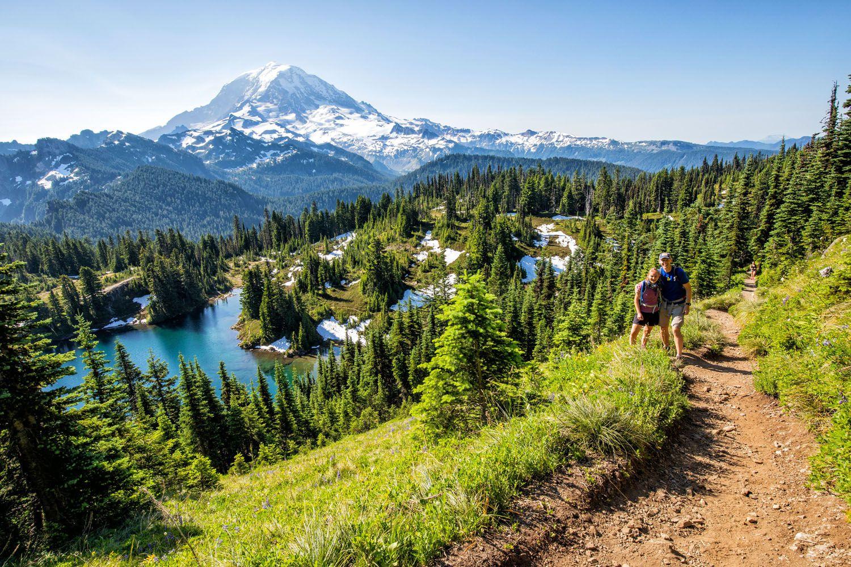 Tim and Kara Mount Rainier