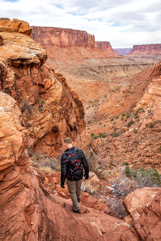 Tim in Canyonlands