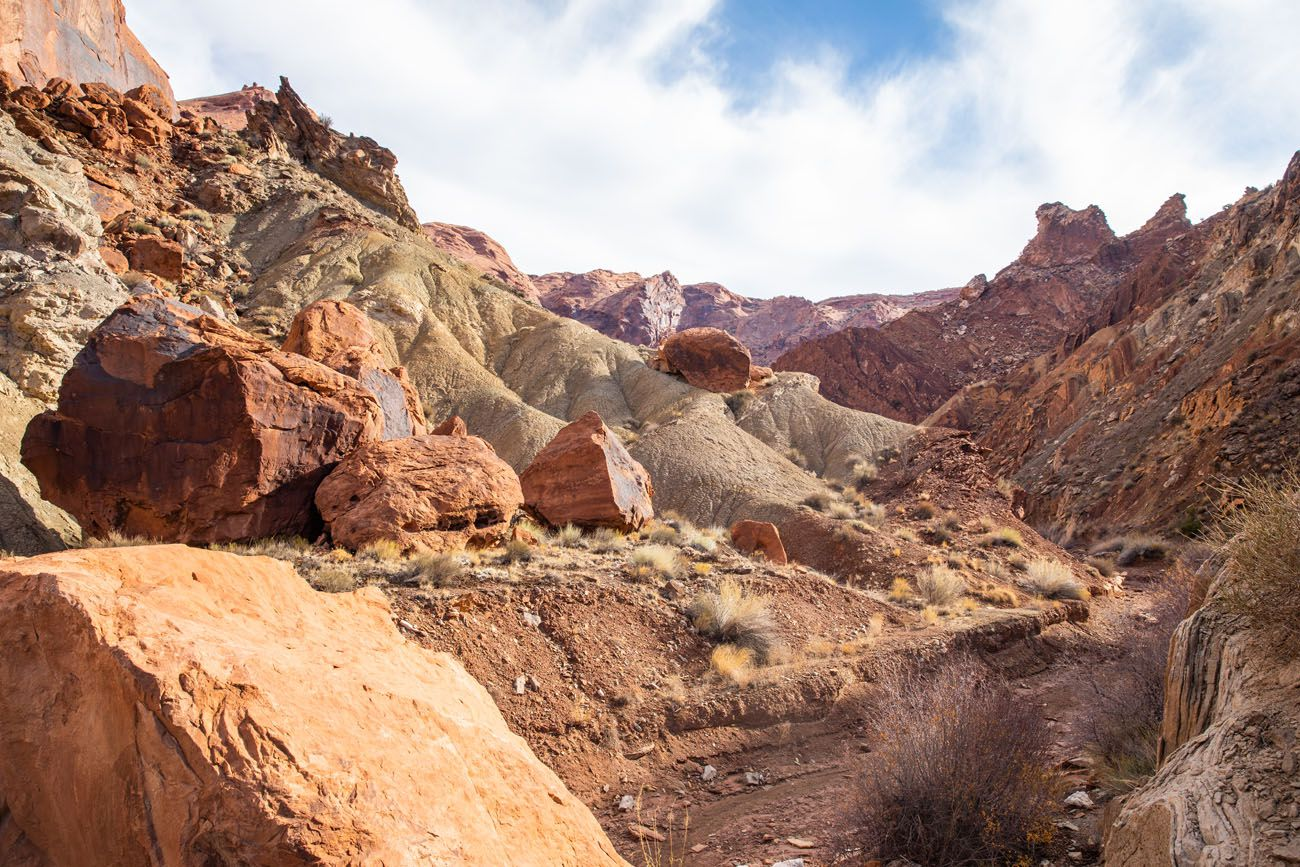 Upheaval Dome Canyon View