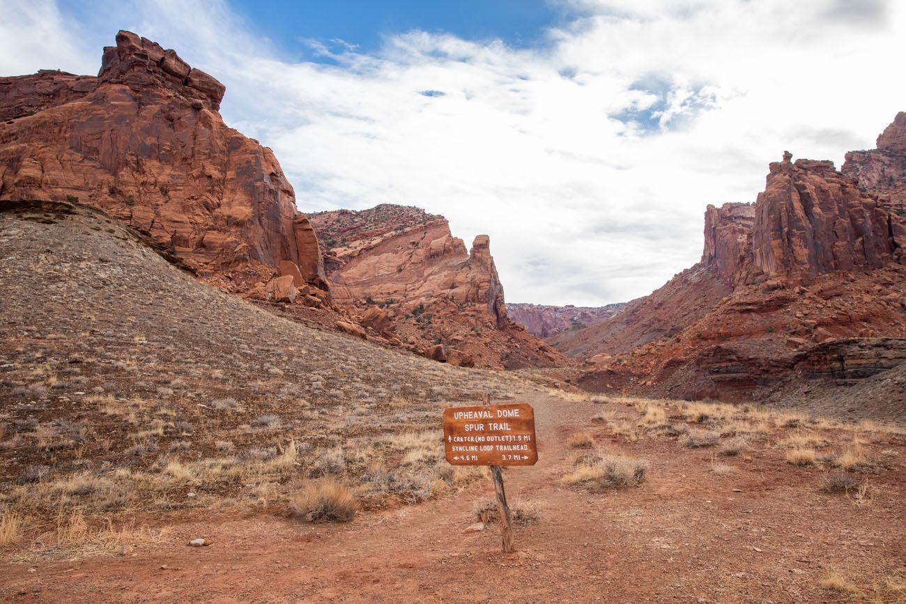 Upheaval Dome Spur Trail