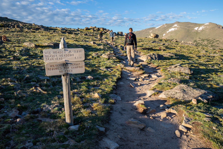 Ute Trail Trailhead