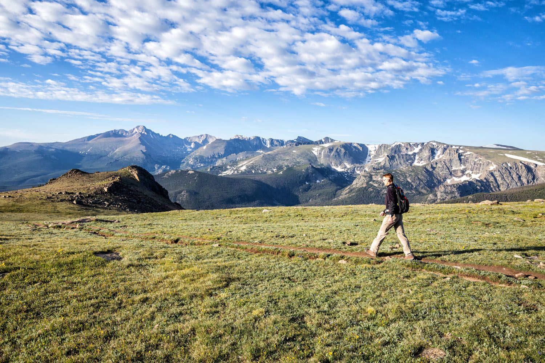 Ute Trail to Tombstone Ridge Hike RMNP