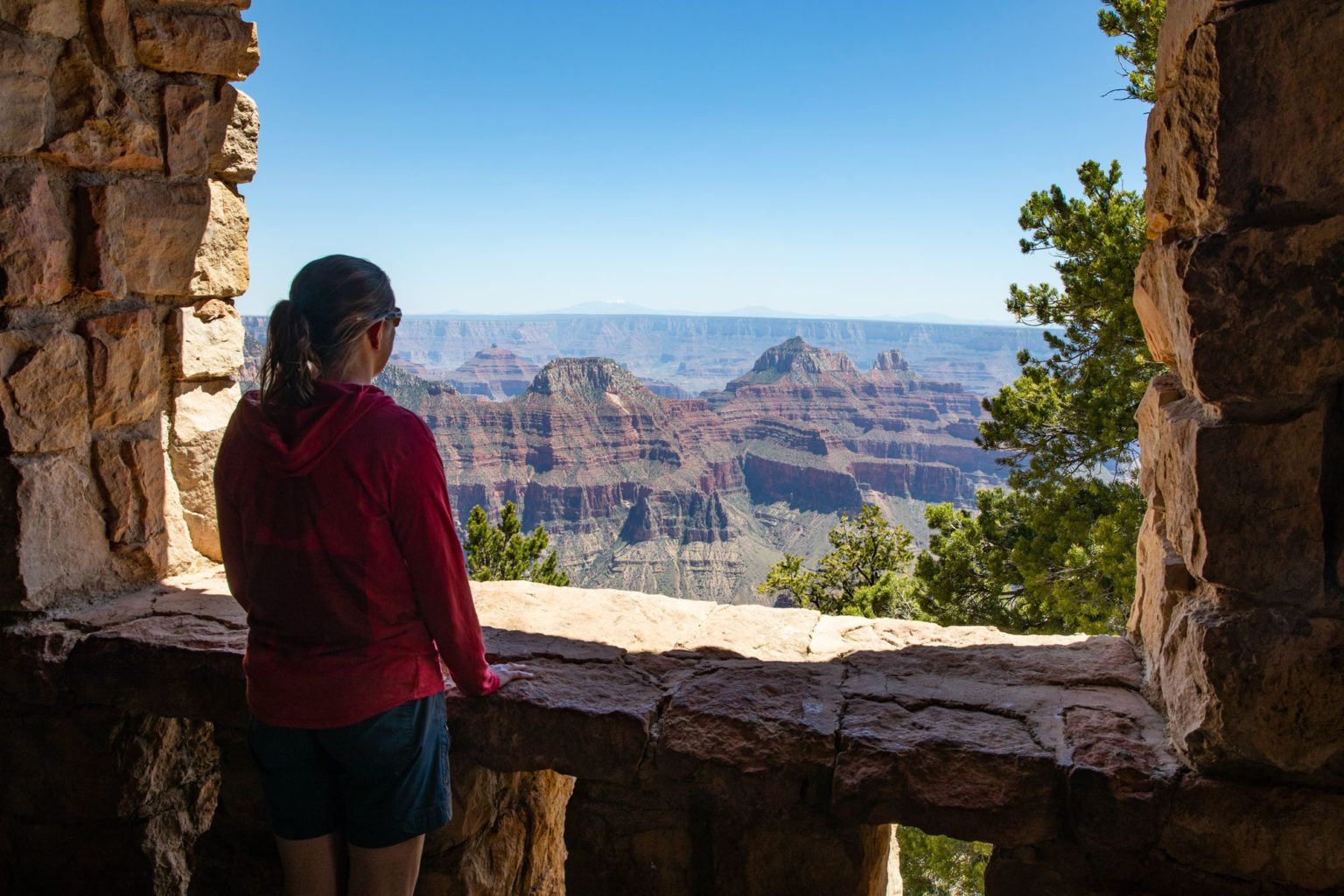 View from the North Rim Lodge