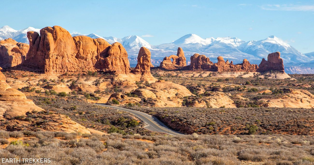 Arches Canyonlands and Capitol Reef Itinerary