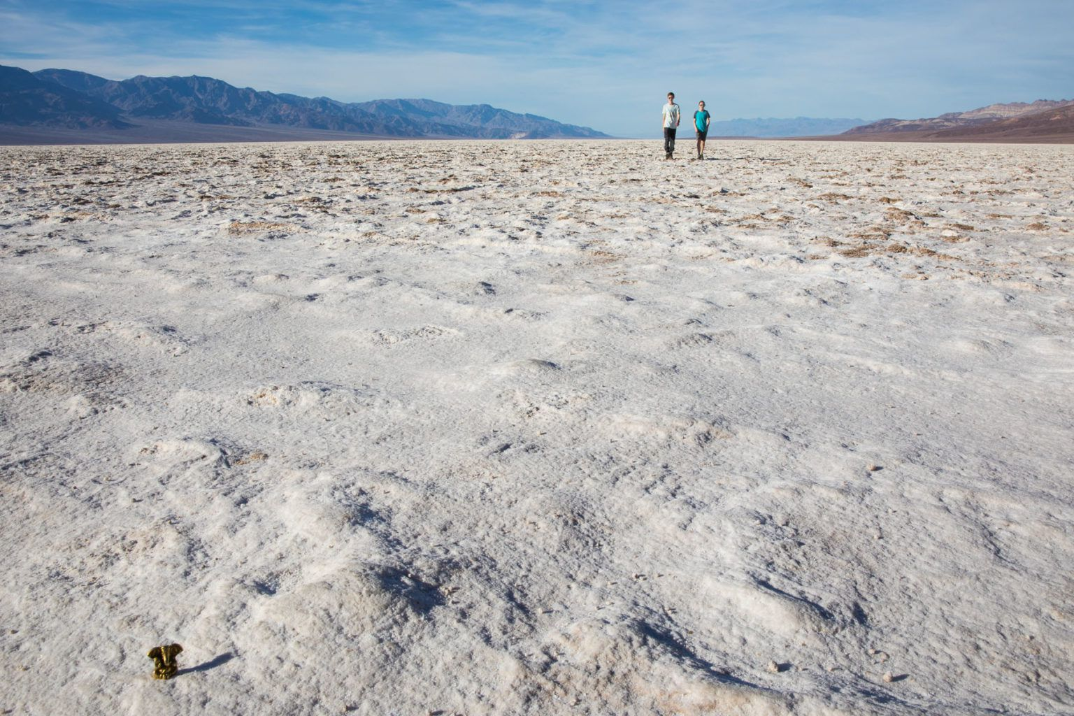 Badwater Basin with Kids