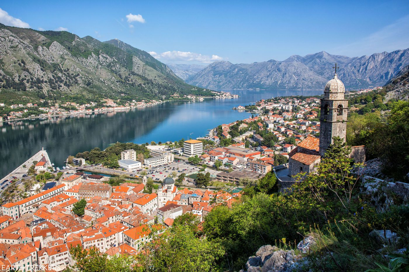 Bay of Kotor places to visit in Europe