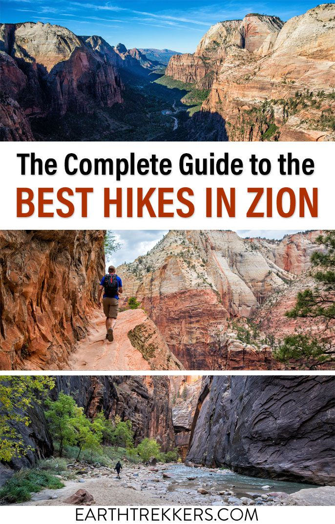 Best Hikes in Zion National Park