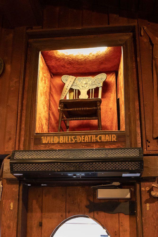 Bill Hickoks Chair