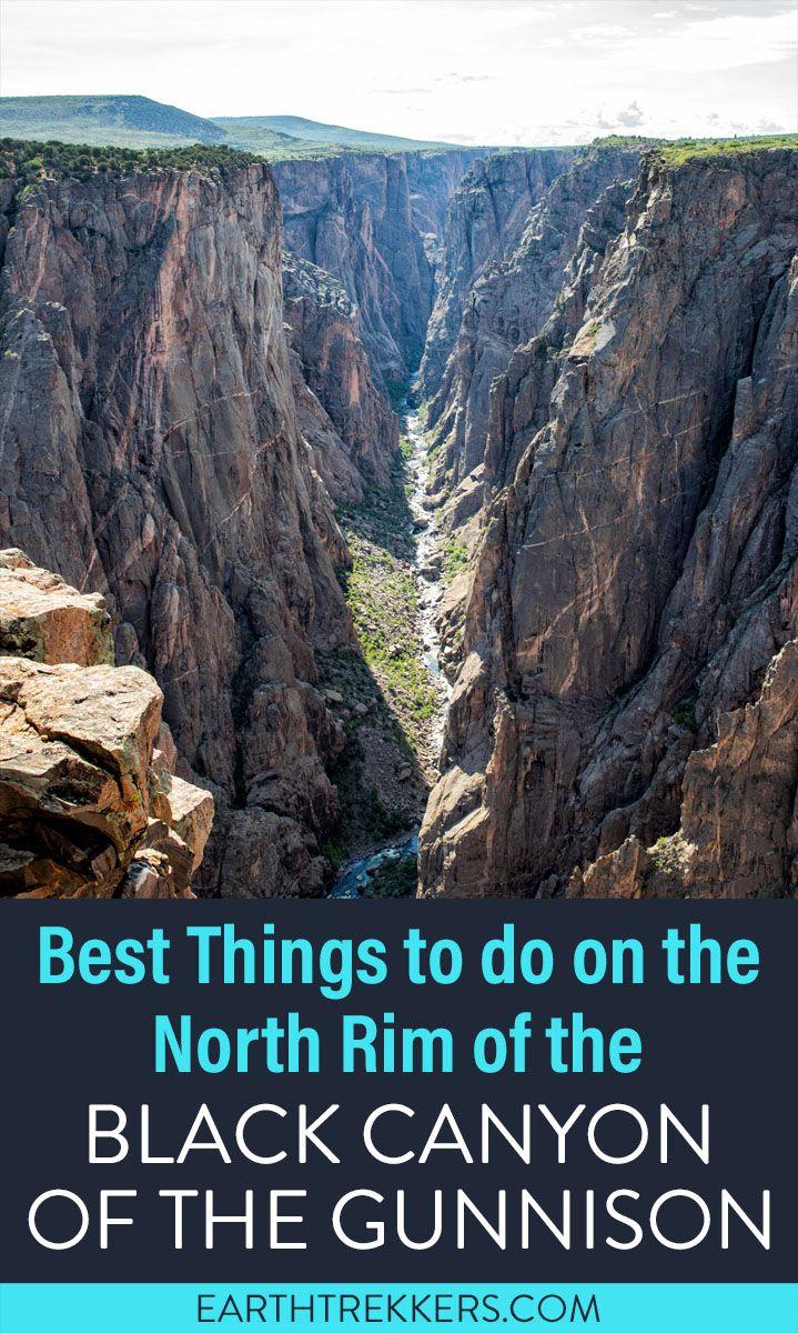 Black Canyon Gunnison North Rim