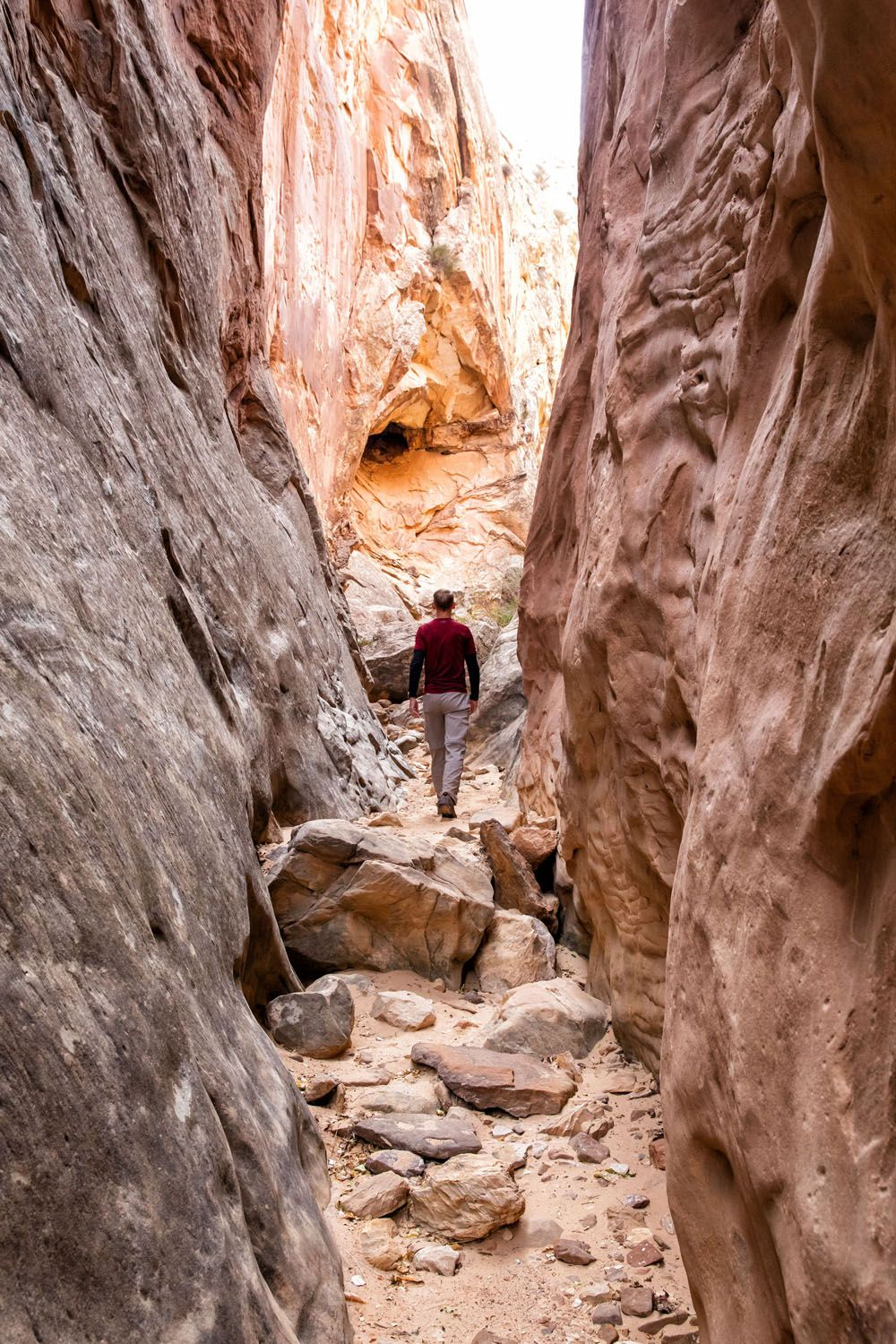 Capitol Reef Hike Arches Canyonlands and Capitol Reef Itinerary