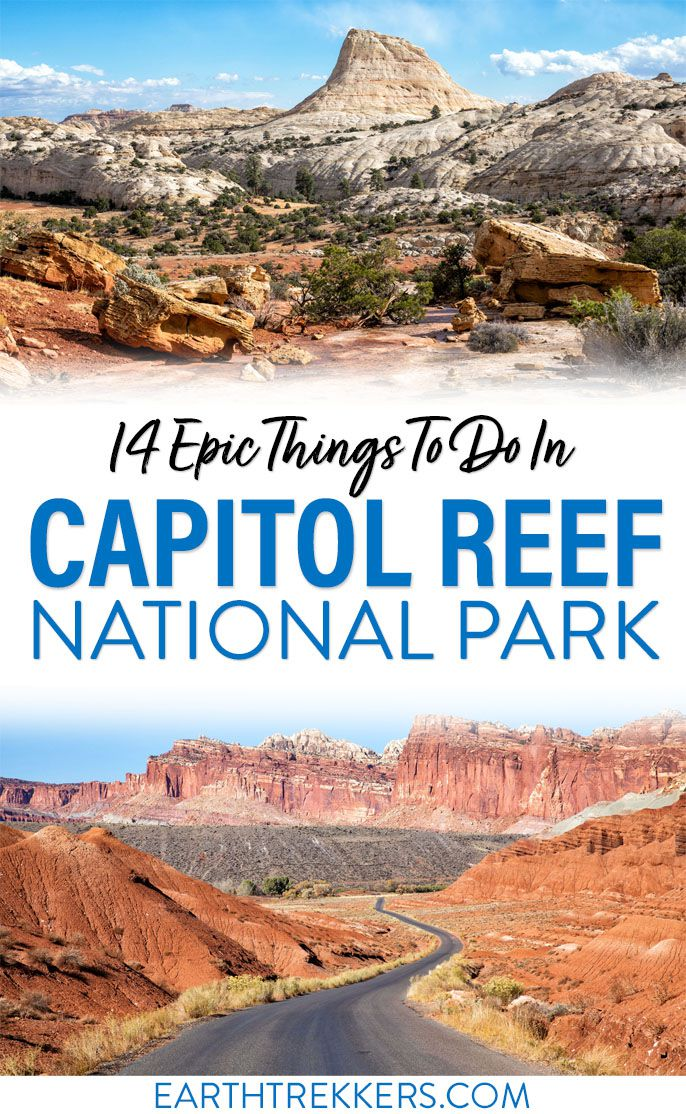 Capitol Reef National Park Travel