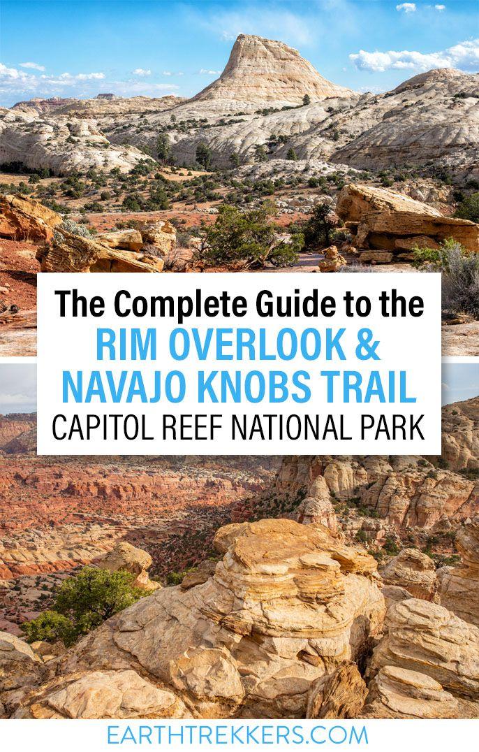Capitol Reef Navajo Knobs Hike